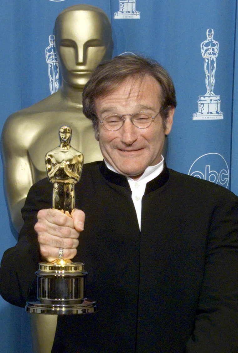 Robin Williams, winner for Best Supporting Actors